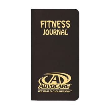 Fitness Journal/ Leatherette Cover