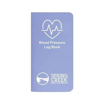 Blood Pressure Log Book w/ Twilight Cover