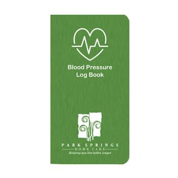 Blood Pressure Log Book w/ Shimmer Cover