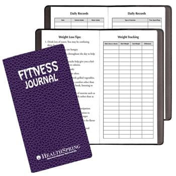 Fitness Journal/ Cobblestone Cover