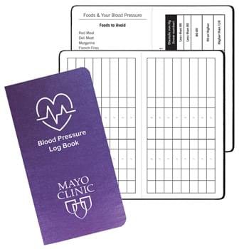 Blood Pressure Log Book w/ Illusion Cover